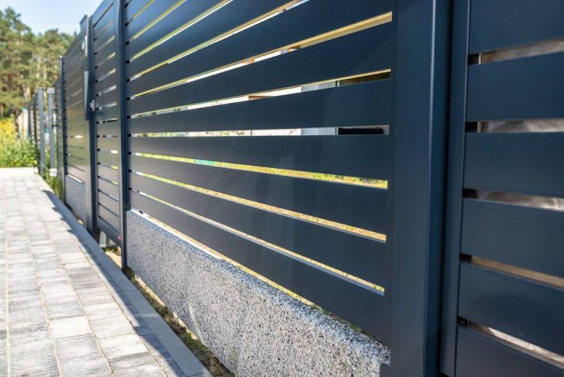 clôture pour une habitation
